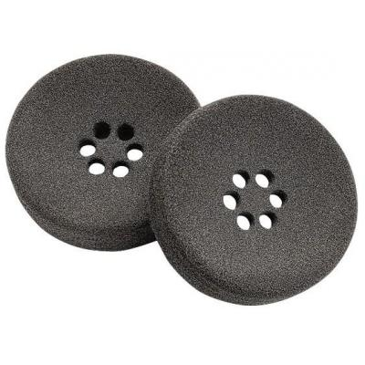Plantronics koptelefoonkussen: Supersoft Foam Ear Cushion - Zwart