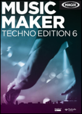 Magix audio software: Music Maker Techno Edition 6 (download versie)