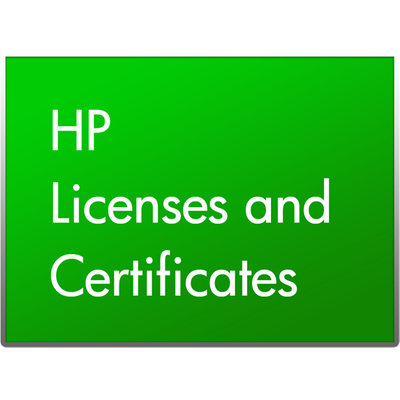 HP 1 Year Phone-in Software Support w/Minor Updates for ZCentral Connect Service Software licentie