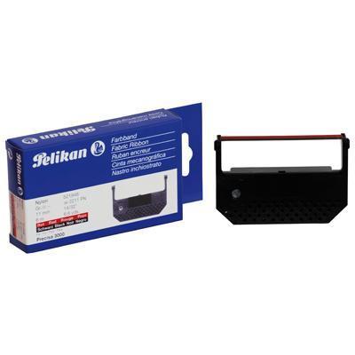 Pelikan printerlint: 11 mm/6 m, Black/Red