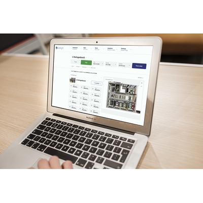 GoBright Desk Manager & App licentie per bureau, 1 year, (500+ bureaus) Software licentie