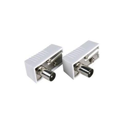 Bandridge Antenna Connectors Kabel connector - Wit