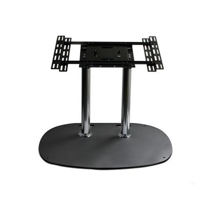 B-Tech Flat Screen Floor Stand TV standaard - Zwart