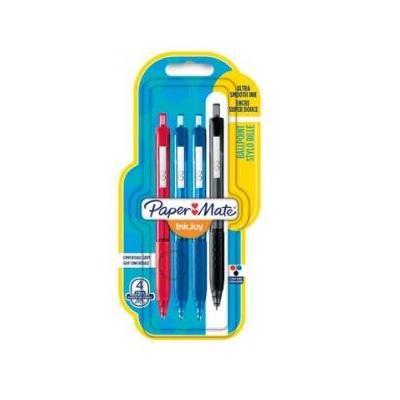 Papermate pen: InkJoy 300 RT - Zwart, Blauw, Rood