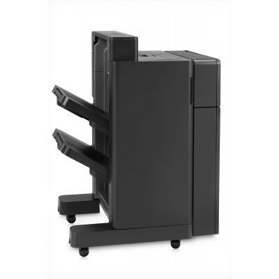 Hp uitvoerstapelaar: LaserJet LaserJet uitvoereenheid/nietmachine met 2/4-gaats perforator (Demo model)