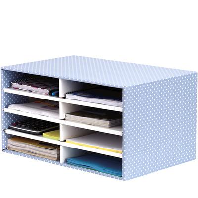 Fellowes Desktop Sorter Blue/White Sorteerder - Blauw