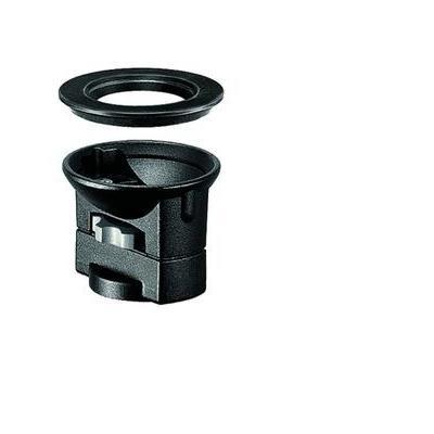 Manfrotto 325N, Bowl Adapter Statief accessoire - Zwart