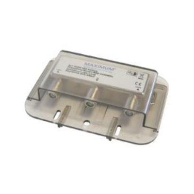 Maximum kabel splitter of combiner: DiSEqC 2/1 switch High ISO - Grijs