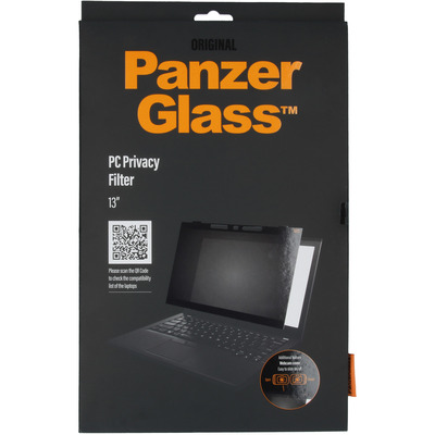PanzerGlass Privacy Screenprotector voor laptops 13 inch - Screenprotector Screen protector