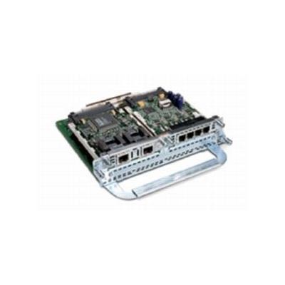 Cisco voice network module: 1-slot IP Comm Voice/Fax