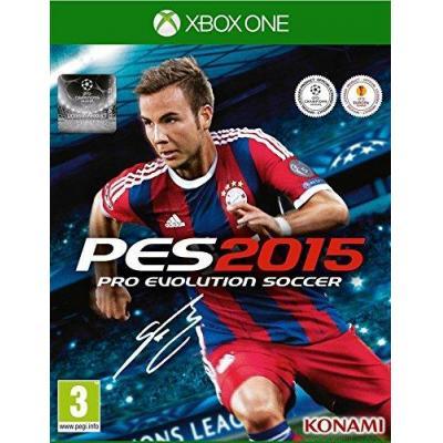 Konami game: Pro Evolution Soccer 2015 (D1 Edition)  Xbox One