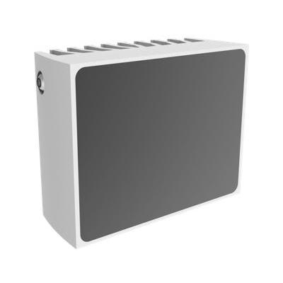 Mobotix infrarood lamp: 19W LED, 45°, 80m, 860nm, IP67, 115x51x90mm, Grey/White - Grijs, Wit