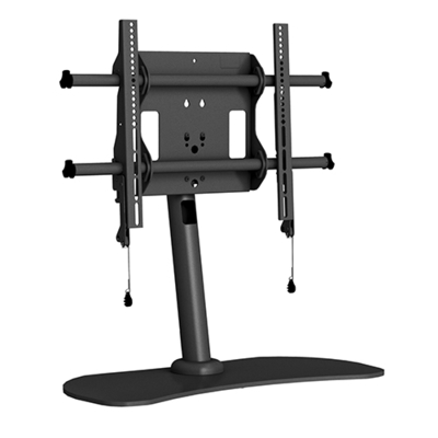 """Chief Large Fusion Flat Panel Table Stand, 46-70"""", max 56.7 kg, Black Montagehaak - Zwart"""