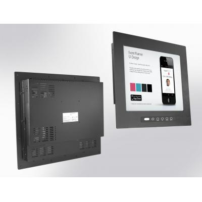 """Winsonic IP65 front Panel Mount (OSD front), 48.26 cm (19"""") LCD monitor, 1280 x 1024, LED 250 nits, VGA input ....."""