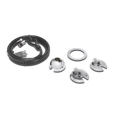 Kensington kabelslot: SafeDome Secure - ClickSafe Keyed Lock voor iMac - Zwart