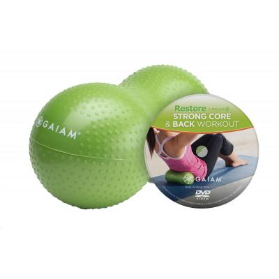 Gaiam fitness, gymnastiek & gewichtstraining: Gaiam, Strong Core + Back Kit (Groen)