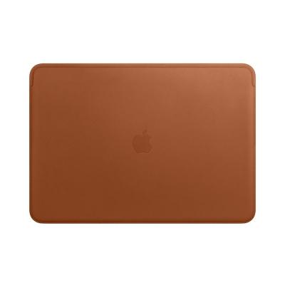 Apple laptoptas: Leather Sleeve for 15-inch MacBook Pro – Saddle Brown - Bruin