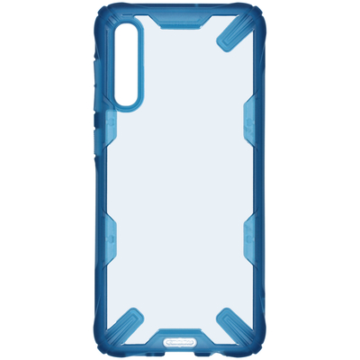 Ringke Fusion X Backcover Samsung Galaxy A50 / A30s - Blauw - Blauw / Blue Mobile phone case