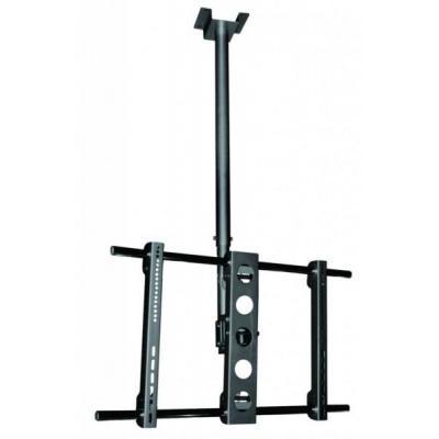 Reflecta flat panel plafond steun: PALLAS XL - Zwart