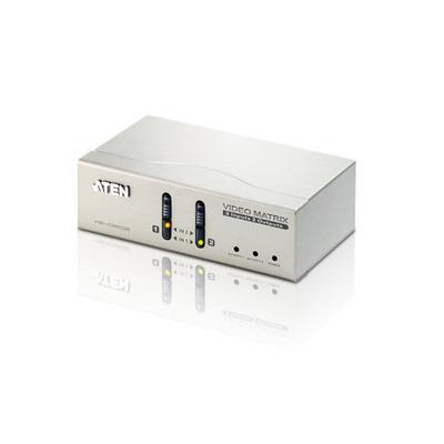 Aten Matrix Switch & Audio 2/2 Video switch