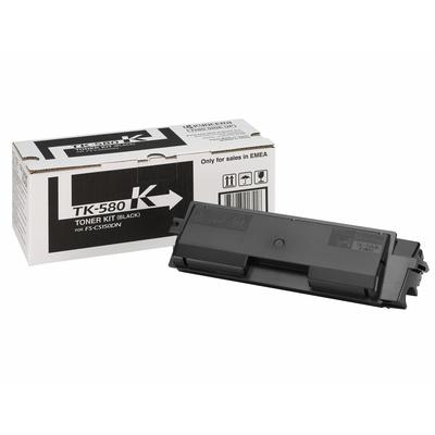 KYOCERA toner: TK-580K - Zwart