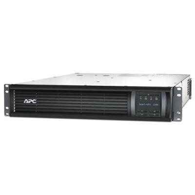 Apc UPS: Smart-UPS 2200VA noodstroomvoeding 8x C13, 1x C19, USB, rack mountable - Zwart