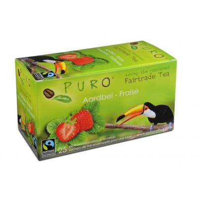 Puro thee: Fairtrade Strawberry