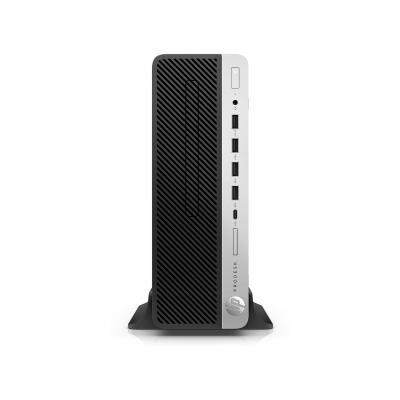 HP ProDesk 600 G4 SFF i5 8GB 256GB (3 = 2 bundel) Pc - Zwart, Zilver
