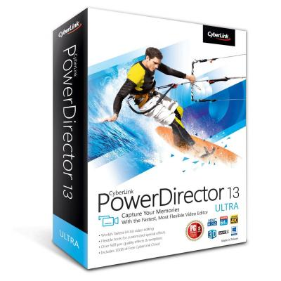 Cyberlink grafische software: PowerDirector 13 Ultra