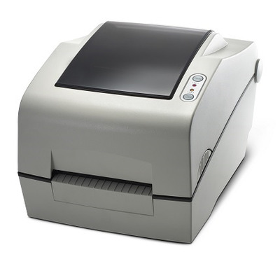 Bixolon 203dpi, 178mm/sec, Cutter, Ethernet, Serial, USB, Light Gray Labelprinter - Zwart