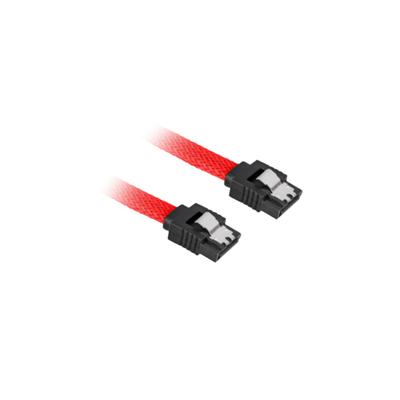 Sharkoon Sata 3 ATA kabel - Zwart, Rood