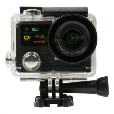 Salora actiesport camera: Een high end 4K actioncamera met full colour frontdisplay en VR functie - Zwart