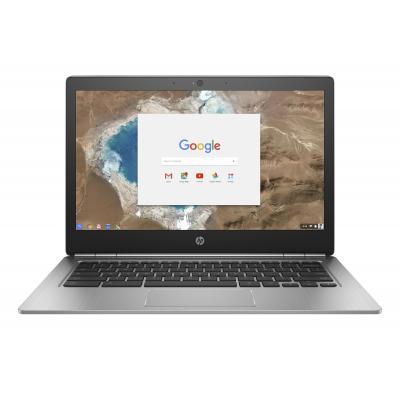 Hp laptop: Chromebook 13 G1 - Zilver, QWERTY