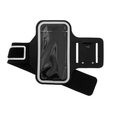 CP-CASES Sportarmband iPhone 12 (Pro) - Zwart - Zwart / Black Accessoire