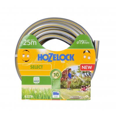 Hozelock tuinslang: tuinslang Select Ø 19 mm 25 meter - Grijs, Geel
