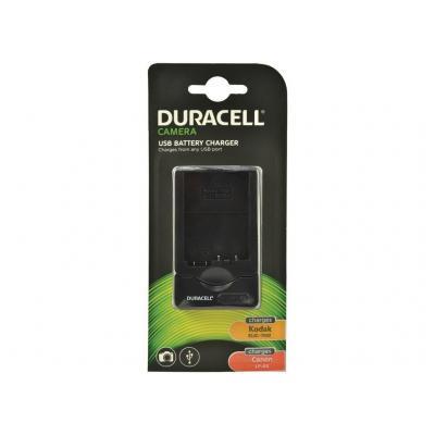 Duracell oplader: Digital Camera Battery Charger - Zwart