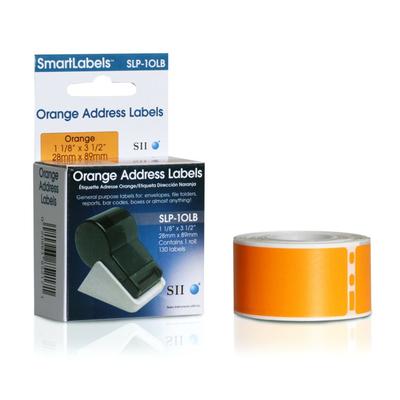 Seiko SLP-1OLB Etiket - Oranje
