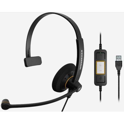 Sennheiser SC 30 USB ML Headset - Zwart