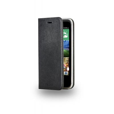 Azuri AZWALTPUHTCD320-BLK mobile phone case
