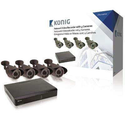 König video toezicht kit: SAS-SETNVR10