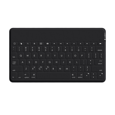 Logitech mobile device keyboard: Keys-To-Go - Zwart, QWERTY