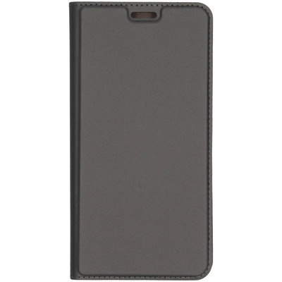 Slim Softcase Booktype Samsung Galaxy A7 (2018) - Grijs / Grey Mobile phone case