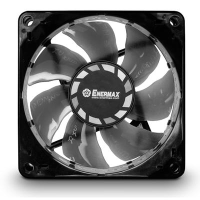 Enermax T.B.Silence 8cm Hardware koeling - Zwart