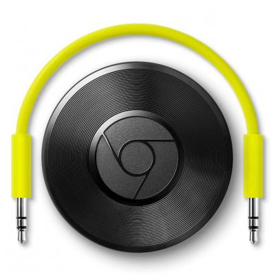 Google digital audio streamer: Chromecast Audio - Zwart
