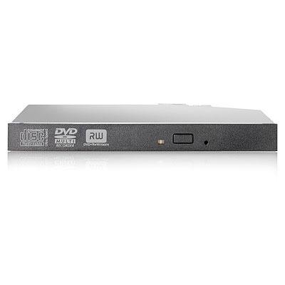 HP 12.7mm Slim SATA DVD-RW JackBlack Optical Drive brander
