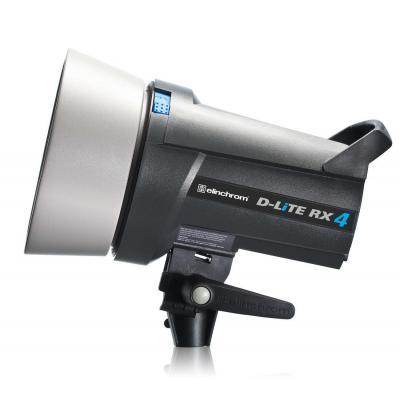 Elinchrom fotostudie-flits eenheid: D-Lite RX 4 - Zwart, Zilver