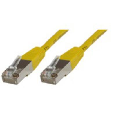 Microconnect Cat5e 1m Netwerkkabel - Geel