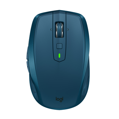 Logitech computermuis: MX Anywhere 2S - Blauw