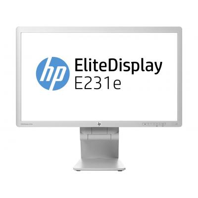 HP monitor: EliteDisplay E231e - Grijs (Approved Selection One Refurbished)