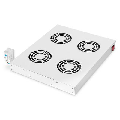 """Digitus Cooling Unit for 19"""" Installation Rack toebehoren - Zwart, Grijs"""